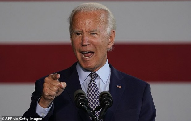 Former Vice President Joe Biden leads Donald Trump in a Texas poll and crawls from one point to another