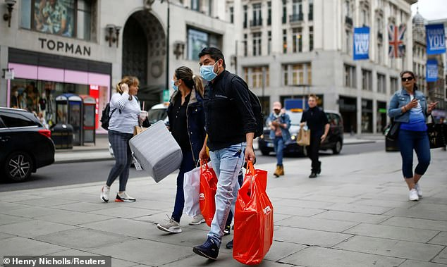 High street footfall has dropped by 65 per cent and could lead to 250,000 jobs being axed by struggling retailers