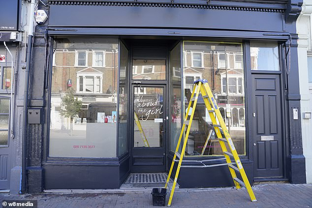 Tana Ramsays salon 'All about the girl' is getting set to open today