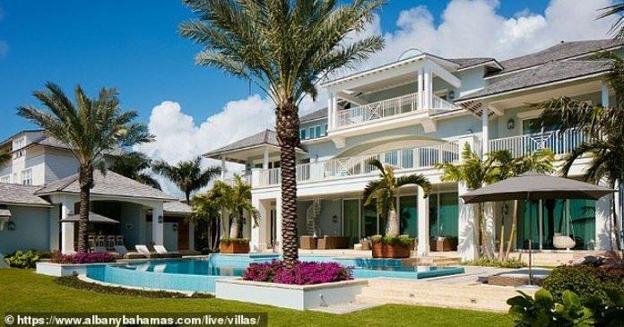 Premium: Smith compartió en el pasado fotos del resort antes, ya que es miembro y a menudo juega golf allí, al igual que el cantante Justin Timberlake