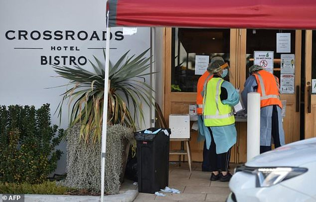 New South Wales recorded 13 new coronavirus cases on Wednesday, with ten of those cases coming from the Crossroads Hotel outbreak