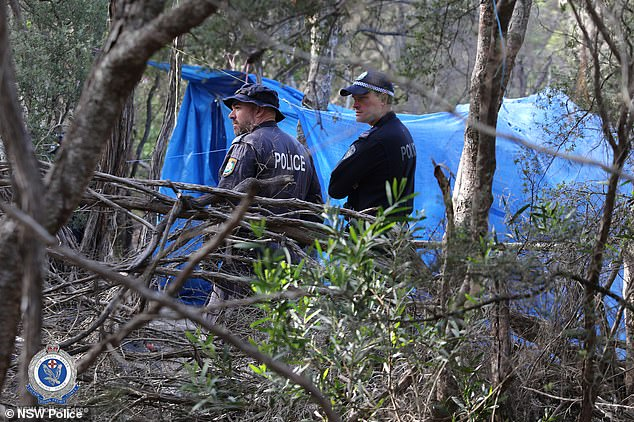 Officers have been searching homeless camps in the bush where she was known to reside in the month's before her disappearance