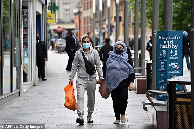 Stores have seen footfall drop during lockdown and with masks set to become compulsory next week it could have more of an impact