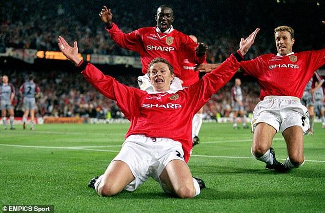 The commentary for Ole Gunnar Solskjaer's Champions League-winning goal is iconic