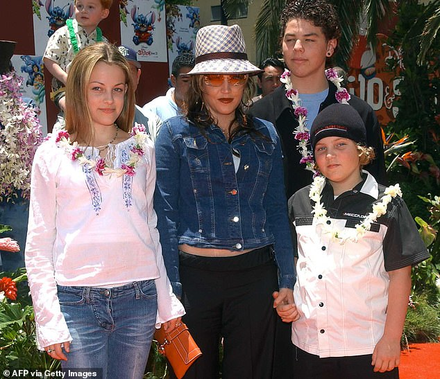The source also claimed that Keough had recently spoken to him about ¿how f***** up kids get in Scientology,¿ having been brought up in the church with his sister Riley (left), before his mother fell out with its controversial leader, David Miscavige, in 2014