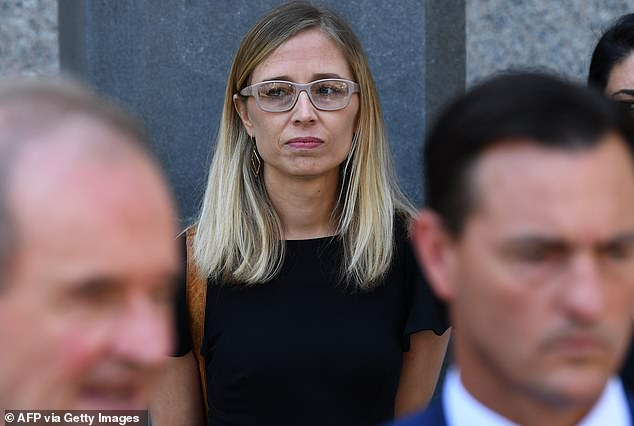 Victim Annie Farmer (pictured) also spoke at the hearing, detailing how she met Maxwell when she was 16 years old. Farmer has previously gone on record with her claims against Maxwell