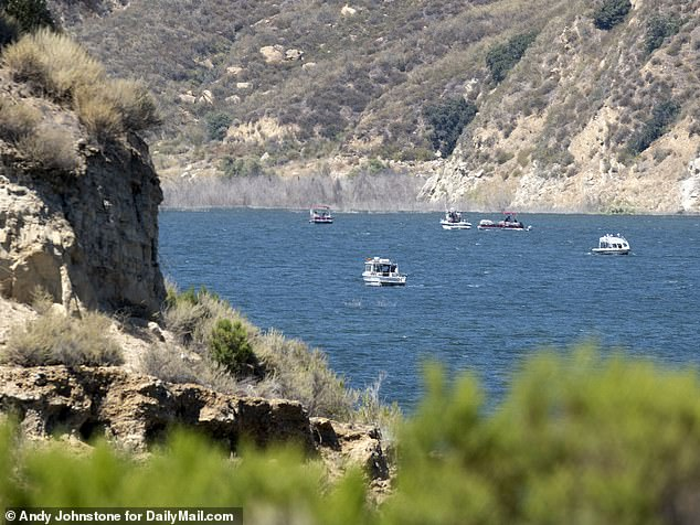 Rivera's body was found Monday in the northeast part of Lake Piru