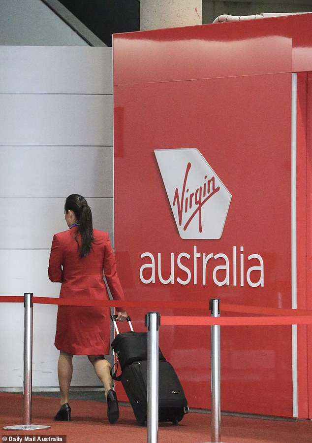 American firm Bain Capital has offered to buy the airline with the Committee of Inspection meeting on Thursday giving the deal their approval (pictured, staff in Brisbane)