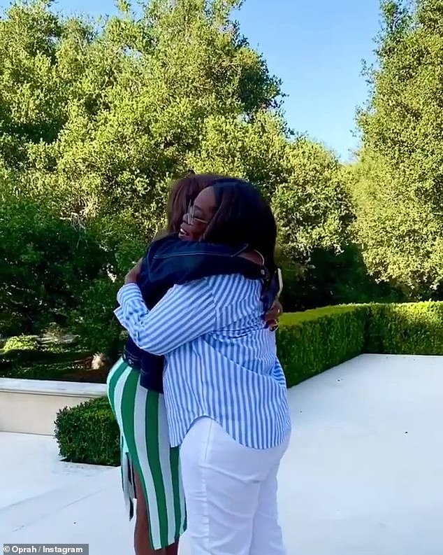 Aww! Last week, she reunited with her best friend Gayle King for the first time in months, after the CBS anchor tested negative for coronavirus