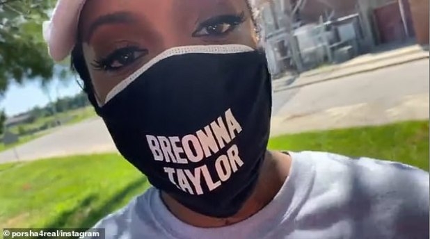 'Today it feels like going to end with me in handcuffs, but I'm about it, that's what we are here for.  Bryo Taylor - Say your name, 'Williams said in a video (above) from day one