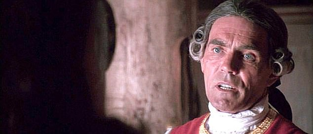 Legendary actor Roeves also starred in The Last Of The Mohicans (pictured above)