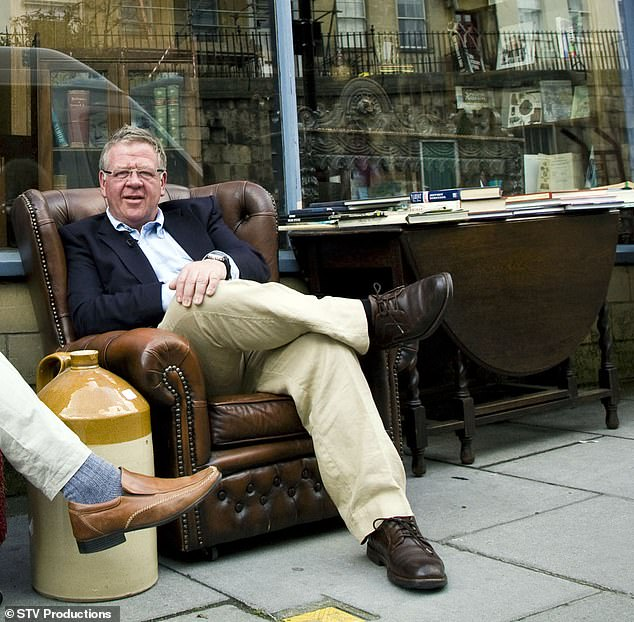 BBC antiques star Philip Serrell posted Twitter theft posts and over 23,000 people saw the tweet