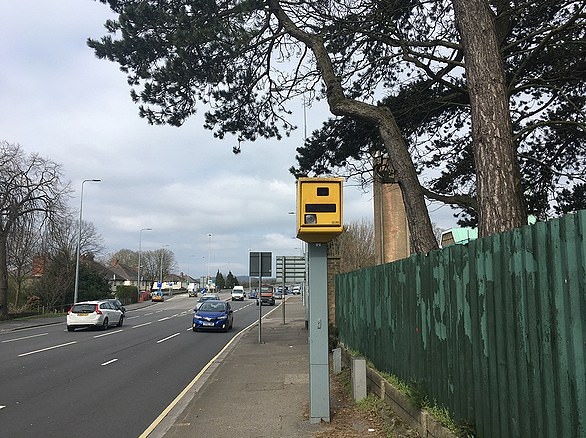 Cardiff's busiest speed camera on North Road