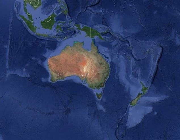Iconic: Australia is instantly recognisable as it's the only country that is also a continent
