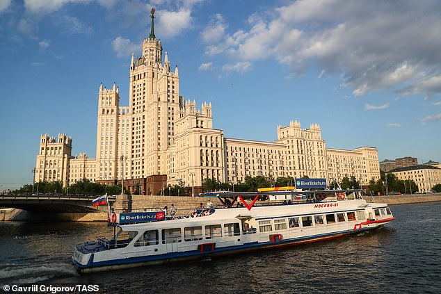 River trips, like Moscow's last month, are generally considered to have a lower risk of infection than those on the ocean