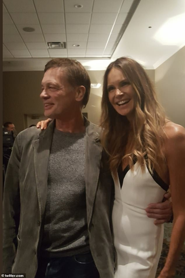 Immune to the facts: Andrew Wakefield, with his girlfriend, businesswoman Elle Macpherson