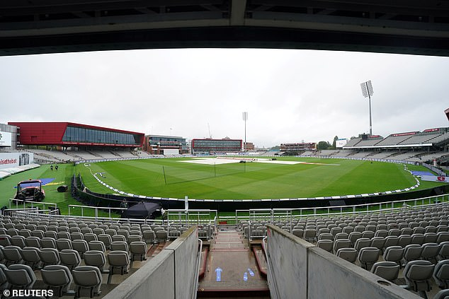 The Test match between England and West Indies is ongoing without fans at Old Trafford