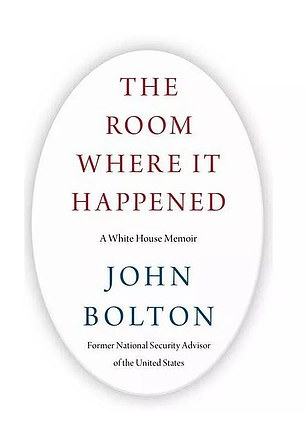 The Trump administration sued John Bolton in June, trying to stop publishing his memoirs to the White House.  It was published on June 23