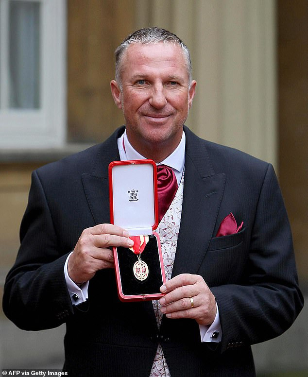 The legendary cricketer, who's nicknamed Beefy and has raised £10m for leukaemia charities, was knighted in 2007 by the Queen.he played 102 Tests for England from 1974 to 1993