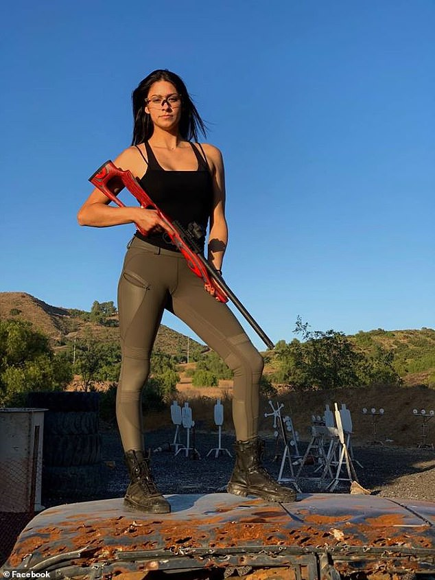 McBride has been featured in shooting magazines and has long posted videos on her social media at shooting ranges