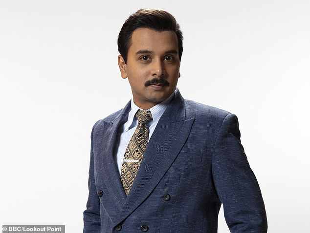 Mr Das plays a love interest forMs Maniktala's character in the £15 million adaptation of Vikram Seth¿s epic novel, which launches on BBC1 at 9pm next Sunday, with his co-star calling him 'Sir' on several occasions