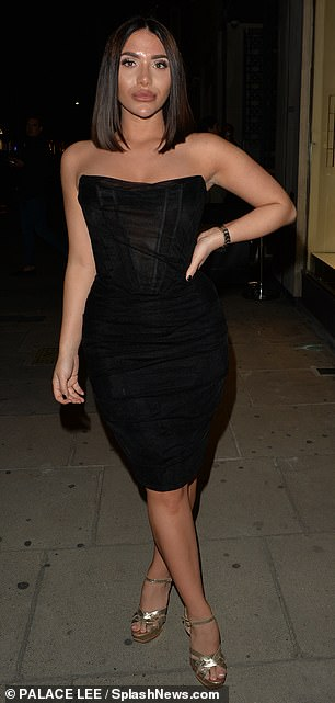 Pals: TOWIE star, 26, has been joined by co-star Chloe Brockett