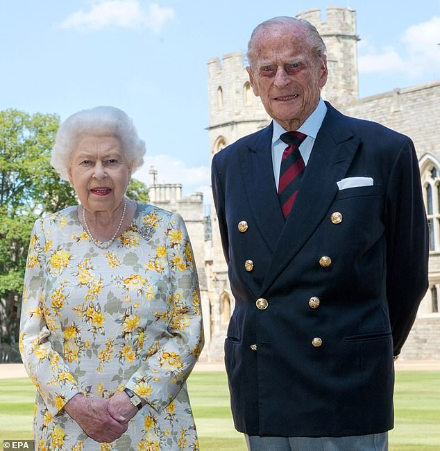 The Queen and the Duke of Edinburgh had been self-isolating in Windsor Castle in lockdown