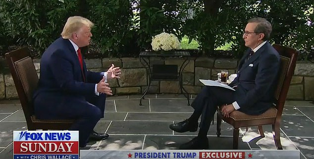 'You know the whole thing with cancel culture — we can't cancel our whole history. We can't forget that the North and the South fought,' Trump said