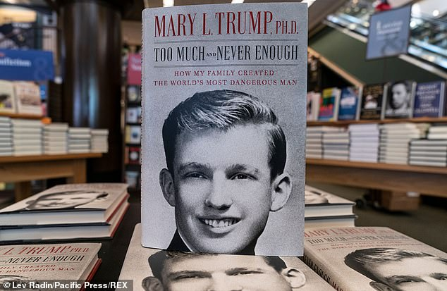 Publisher Simon & Schuster revealed that the book, named 'Too Much and Never Enough: How My Family Created the World's Most Dangerous Man', sold a company record of 950,000 copies in combined print, digital and audio editions as of its date of sale, earlier this week