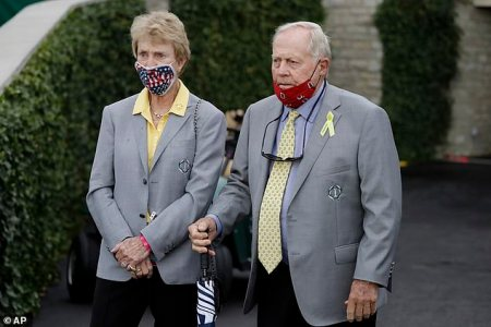 Golf Legend Jack Nicklaus Says he and his Wife were Sick with the Coronavirus Earlier this Year