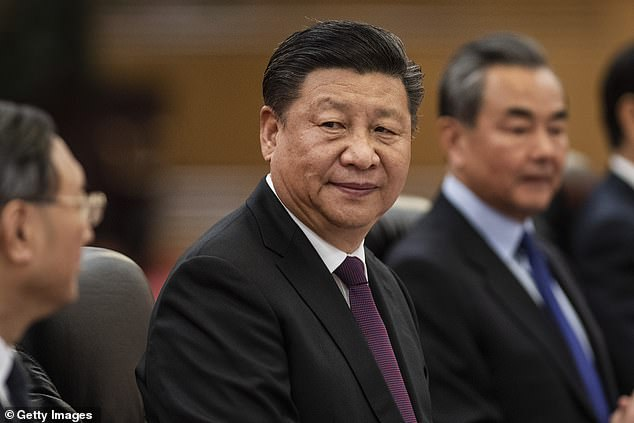 Despite its ownership, TikTok has never been available in China. However, critics say it is used by Chinese intelligence services. In the photo, President Xi