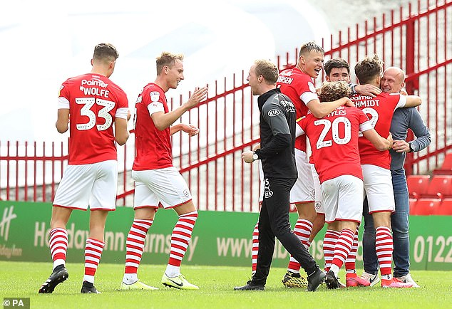 Barnsley but must beat Brentford and hope other results go their way to avoid the fall
