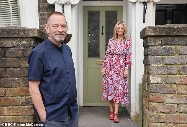New spoiler pic: Both Adam and Gillian have played mother-and-son duo, Ian and Kathy Beale, on the BBC soap since 1985