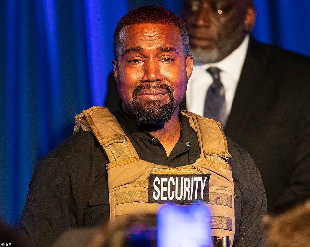Kanye, 43, went on a Twitter rampage on Monday night before deleting almost all of his rambling tweets within an hour of posting them - a day after his rambling speech in South Carolina