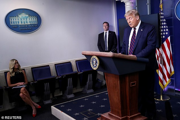 Trump announced Monday in the Oval Office that he would be brining back the briefings, claiming it was important for him to directly address Americans on the White House response in the midst of the prevailing surge