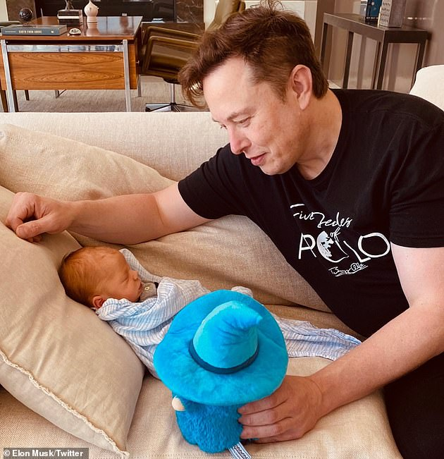 How he says it: Grimes says their son's name ispronounced: 'Ex Ash A Twelve' while Elon says it is 'Ex Ash Archangel Twelve'