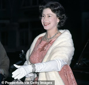 Way back when: Queen Elizabeth II attending the ballet at the Festival Hall in London on 1st June 1964