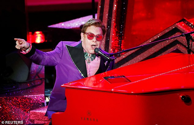 Sir Elton wrote in his autobiography, Me, that he regretted 'breaking the heart,' of German sound engineer Renate