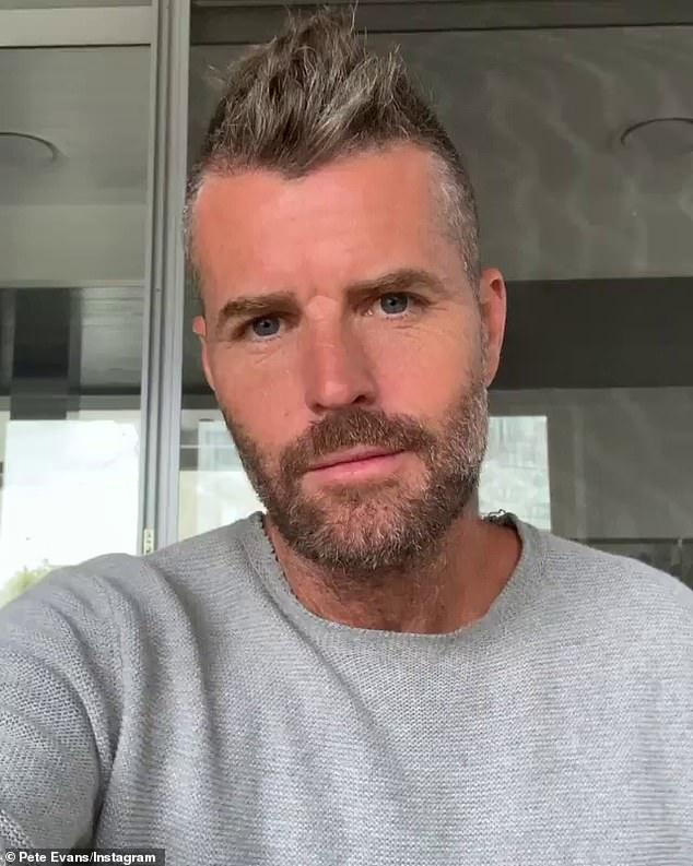 Covidiot: It comes after conspiracy theorist Pete Evans (pictured) was fined $25,200 in April for promoting the lamp after claiming the bizarre device could help coronavirus
