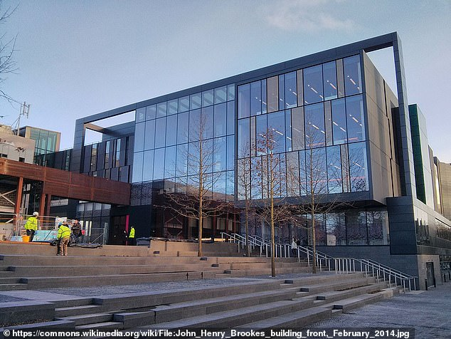 The attack - which also hit a Canadian university and a US design school - happened in May, but was not addressed publicly until this month.  Pictured: Oxford Brookes University was one of those affected