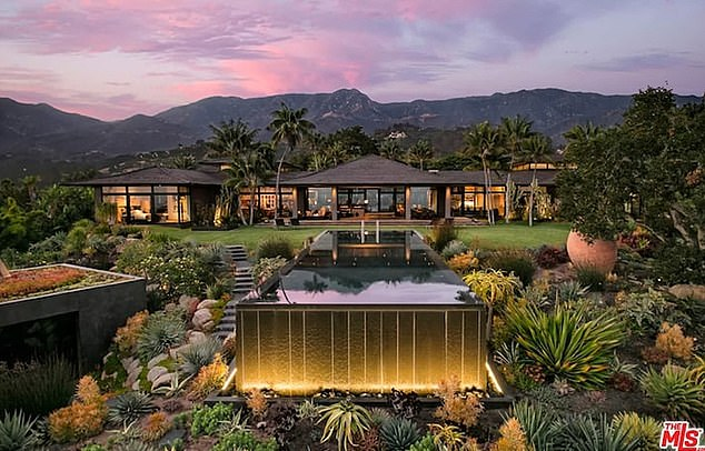 Ellen's home:The talk-show host purchased the 8,188-square-foot, Balinese-style home in early 2019 for a staggering $27 million