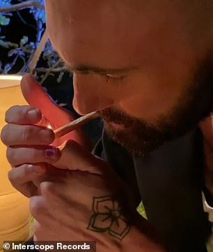 Roll it up: While the song is clearly about love, in the music video, Levine is seen sitting in a back yard, and as the song progresses, he starts rolling up and smoking a joint