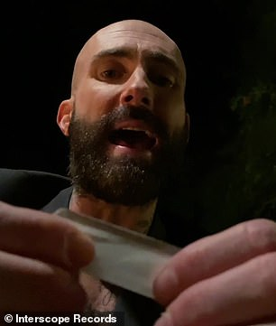 Roll it up:While the song is clearly about love, in the music video, Levine is seen sitting in a back yard, and as the song progresses, he starts rolling up and smoking a joint