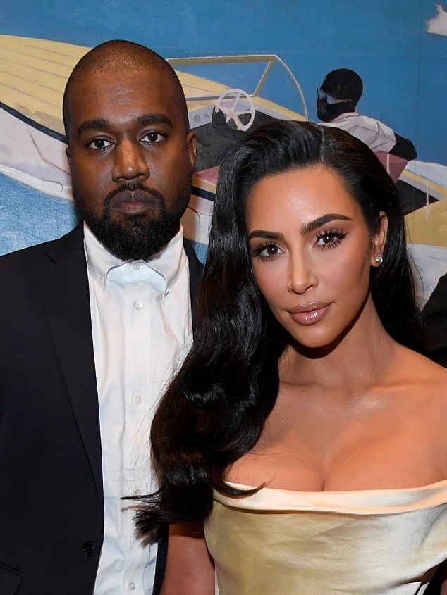 Tough times: Kanye West is reportedly refusing to see his wife Kim Kardashian
