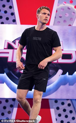 Born in Connecticut, US, he has competed in three American Ninja Warrior competitions and the first two Ninja Warriors UK tournaments (pictured, competing in ITV' Ninja Warrior UK in 2018)