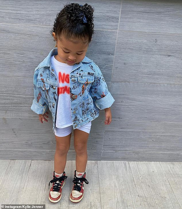 A source said Stormi has yet to meet her pony as it needs to undergo a 14-day quarantine