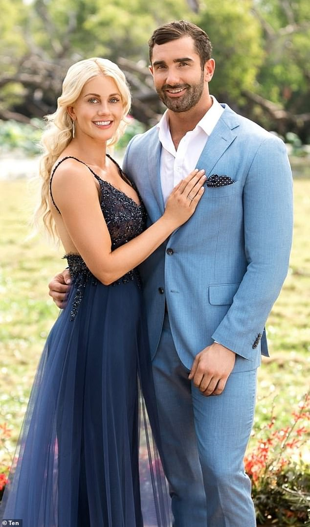 Their story: Ali and Taite met and fell in love on The Bachelorette back in 2018 (pictured)