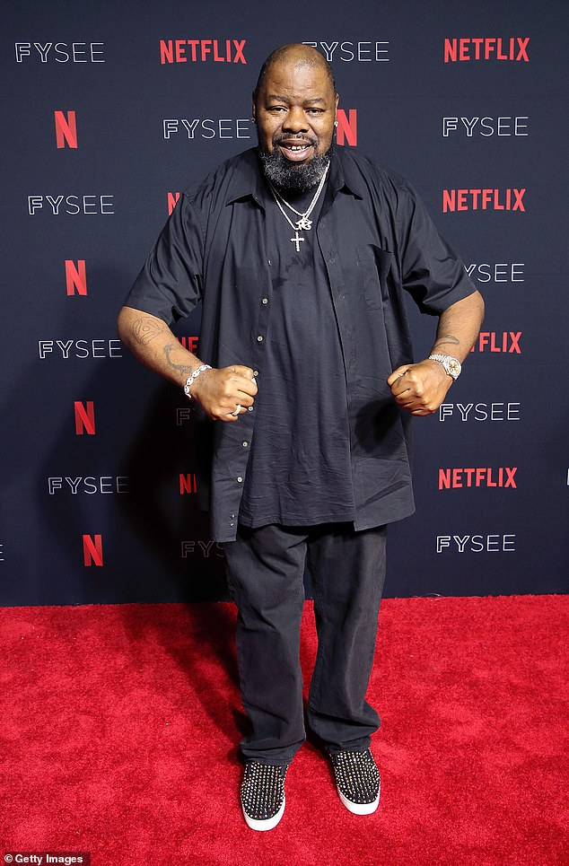 Not feeling great: Biz Markie, 56, has been hospitalized for weeks due to type 2 diabetes, according to TMZ; pictured in May 2018