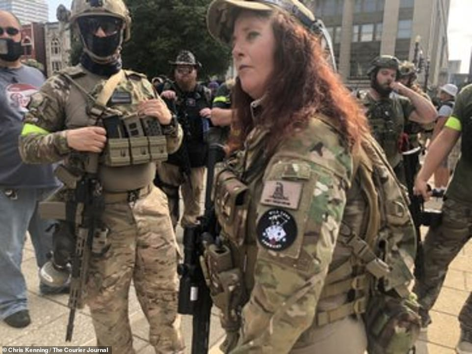 The Three Percenters militia is considered an extremist group by the hate-monitoring organization Southern Poverty Law Center
