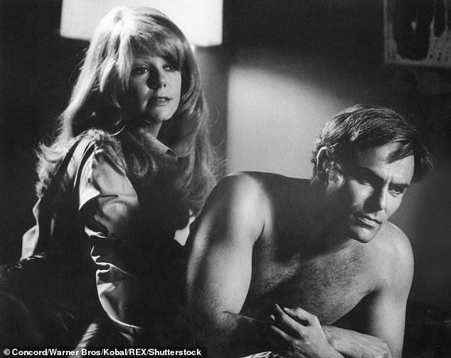 Tough guy roles: Along with Westerns, Saxon also appeared in a number of martial arts productions, most notably in 1973's Enter The Dragon , alongside Bruce Lee; he is pictured with co-star Ahna Capri